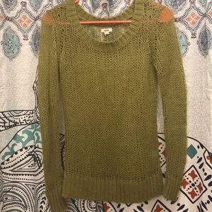 Olive green aerie sweater size small